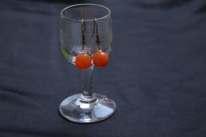 Oorbel - Oranje €9,00 per paar